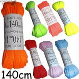 BRIGHT Laces 140cm Wide Flat for Quad Skates Boots Roller Derby Choose Colour